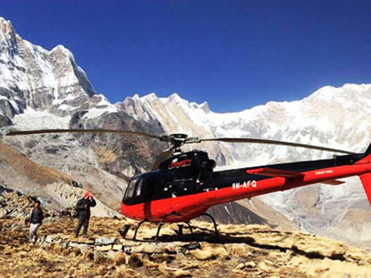 Annapurna Base Camp Helicopter Price