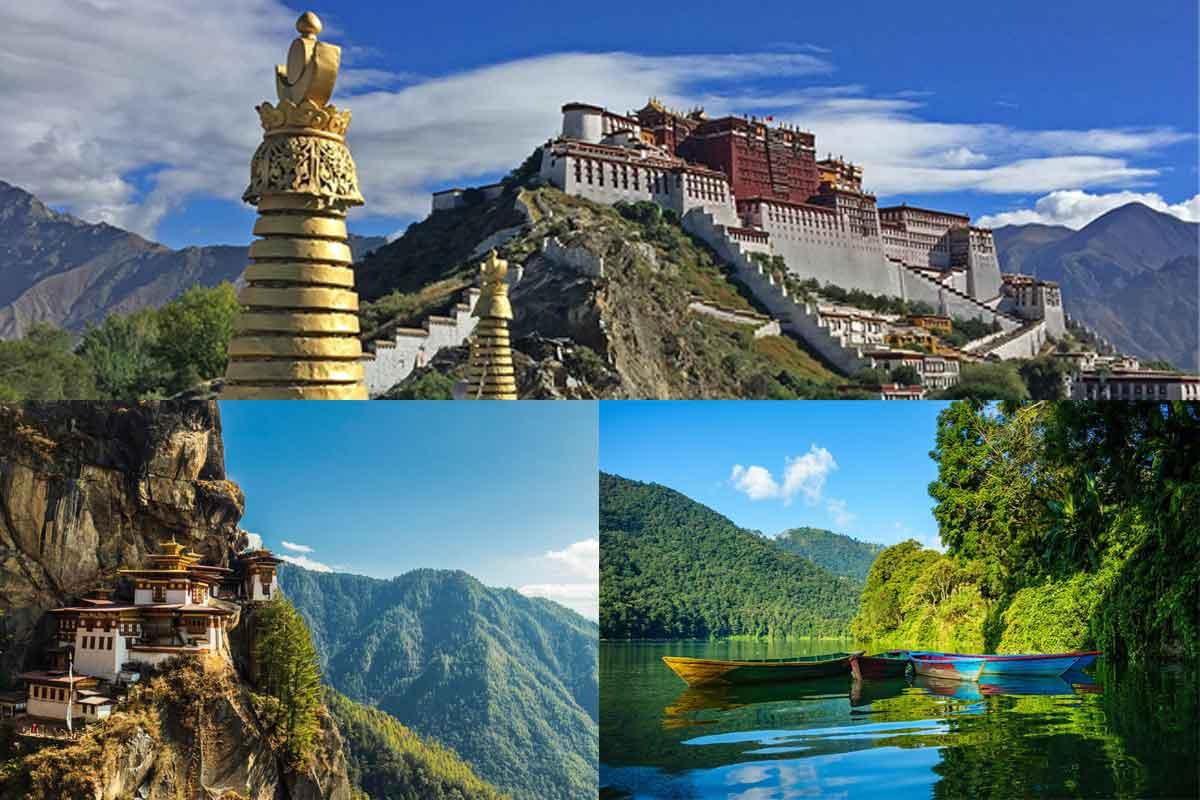 Trip to Nepal Tibet and Bhutan