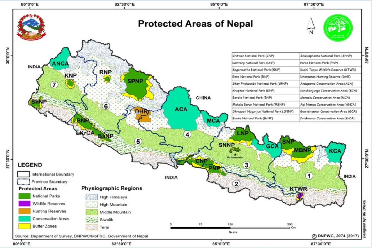 Protected areas in Nepal