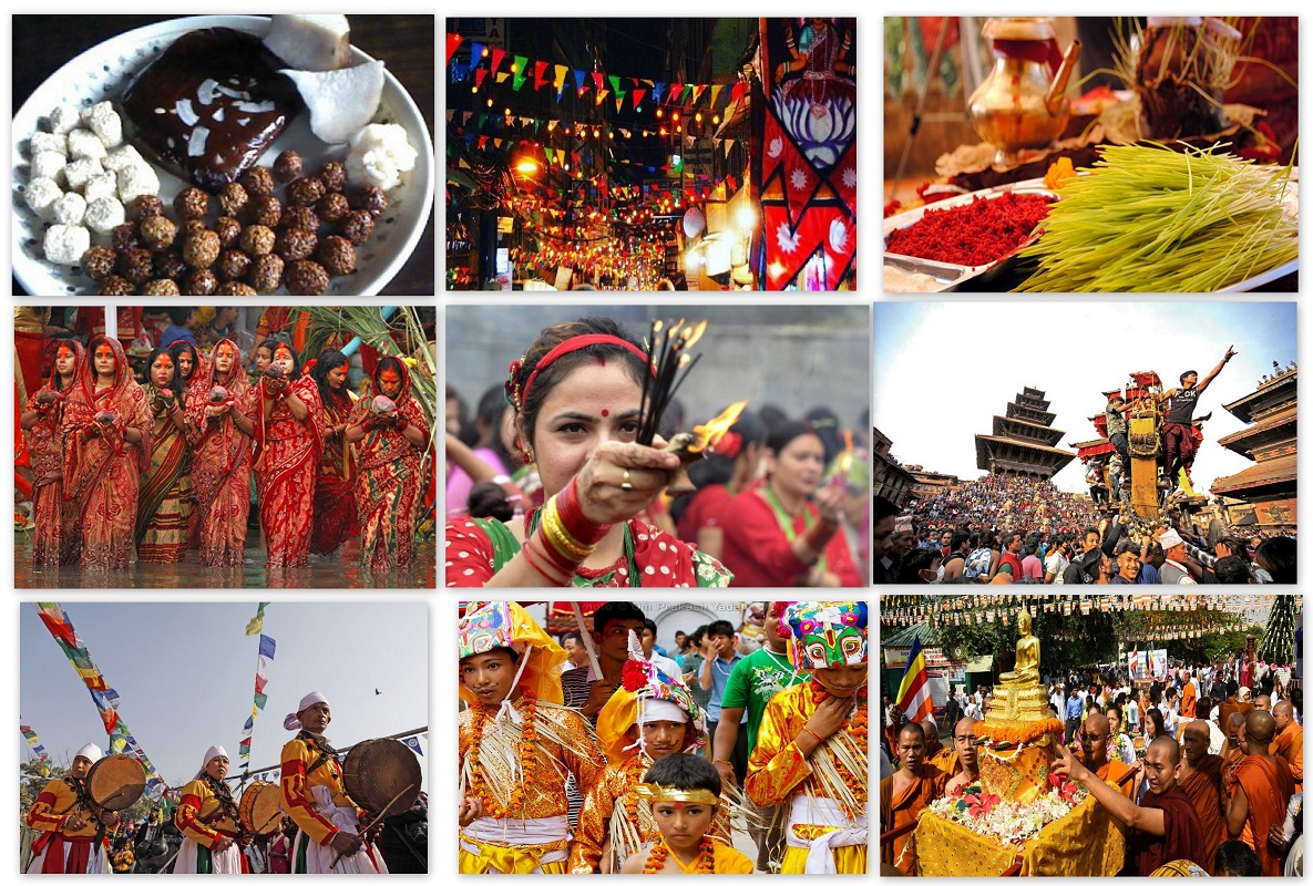 When to see festivals in Nepal?