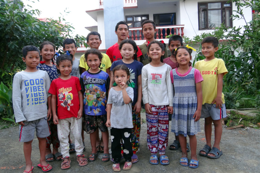 orphanage house in nepal